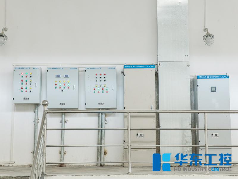 华东工控泵站现场