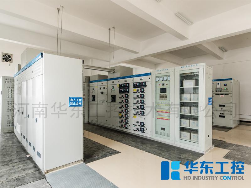 现场泵站控制系统配电室