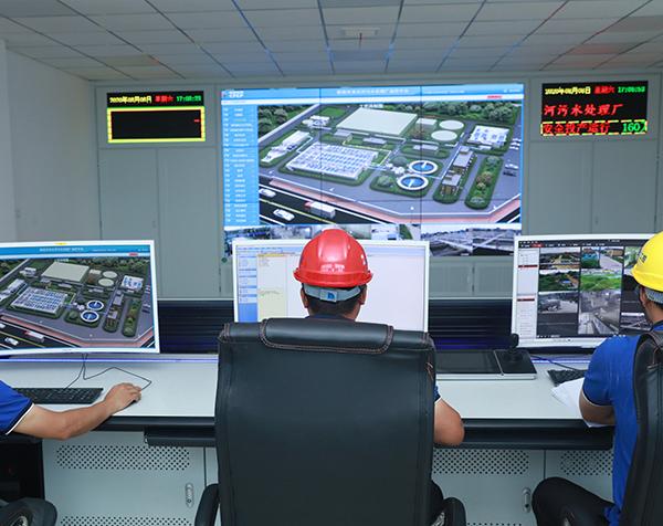 华东工控污水处理plc自动化控制系统监控平台