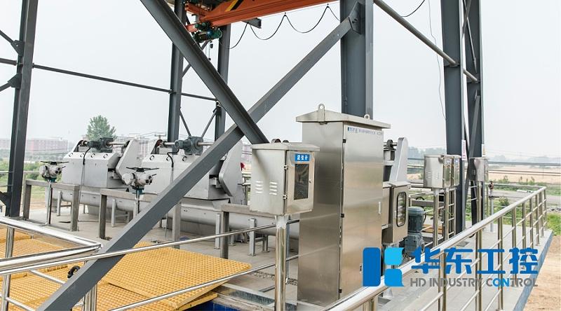 华东现场泵站室外不锈钢控制柜