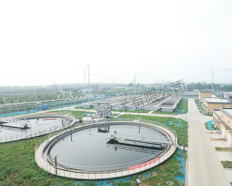 污水处理厂现场拍摄图