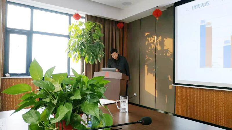 总经理孙肇伟先生发表讲话