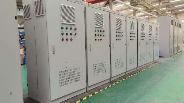 超硬材料六面顶压机电气控制系统