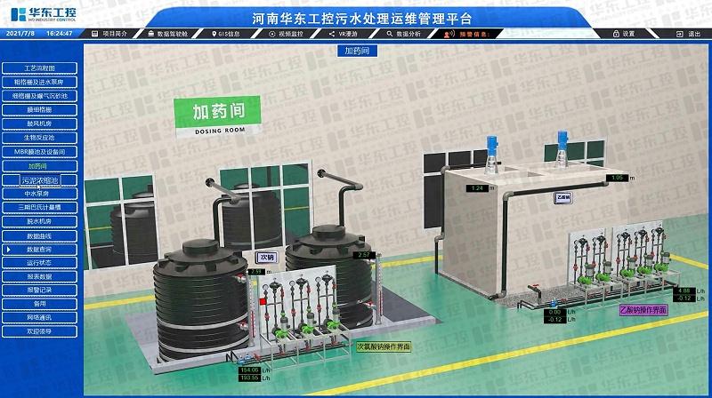 自动化控制系统助污水处理厂提效降本