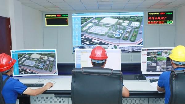 华东工控污水处理plc自动化控制系统