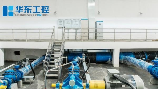 一体化泵站控制系统现场