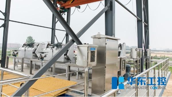 华东泵站控制柜实拍