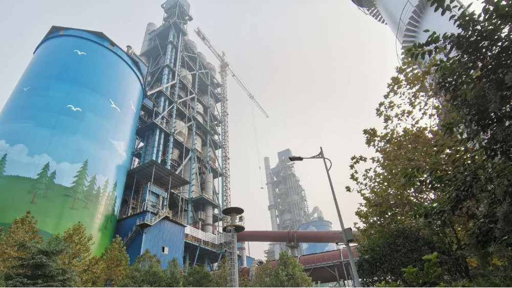 华东工控丨秦通实业60万吨/年脱硫剂粉磨站生产线改造自动化系统案例